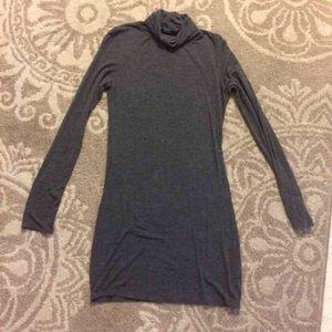 ANGL Dresses & Skirts - Angl Gray Turtleneck Long Sleeve Dress