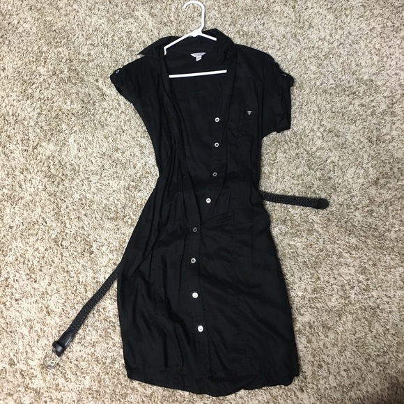 Guess Dresses & Skirts - Guess black button down