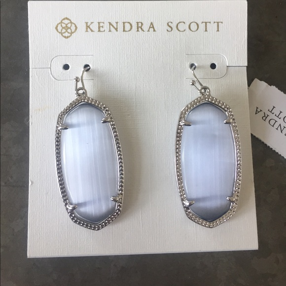 Kendra Scott Purple Cats Eye Elle