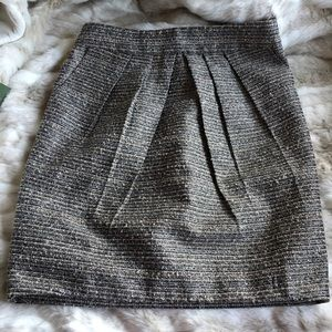 Tabitha Anthropologie Avant Tweed Skirt