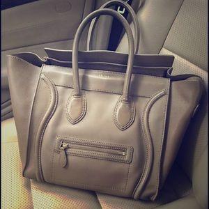 Celine Handbags - Taking offers! Celine mini luggage tote