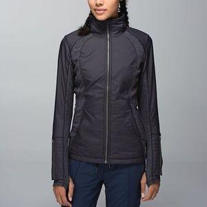 lululemon athletica Jackets & Blazers - Lululemon Reversible Hooded Run Jacket