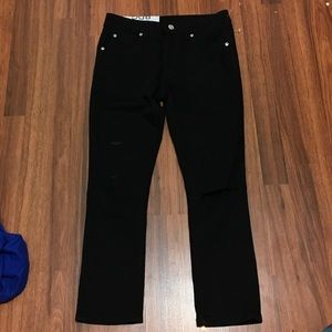 BDG Black Drain pipe High rise Denim Jeans 26
