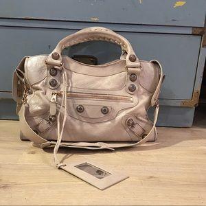 Balenciaga Handbags - Balenciaga Gray GGH City Bag