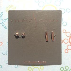 studio silver Jewelry - NWT Studio Silver Earring Set