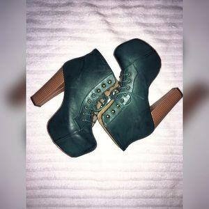 Shoe Republic LA Shoes - Platform booties
