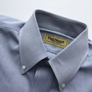 Paul Stuart Other - Paul Stuart Blue Dress Shirt 15-34