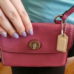 Coach Handbags - Authentic - Pink Coach Dylan Crossbody