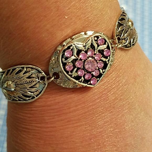 Magnetic Charm Bracelet: Tibetan Silver Charm Bracelet Magnetic Closure From Kelly