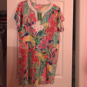 NWT Lilly Pulitzer Casa Banana Tunic Dress