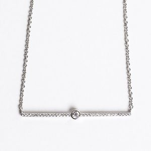 Jewelry - Crystal Bar Necklace
