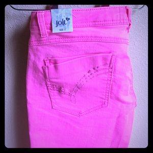 Jolt Pants - NWT pink Jolt shorts