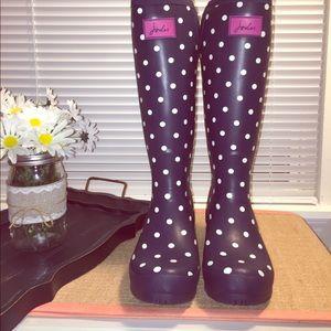 Joules Shoes - ☔️Joules Neola Talk Rain-boots Size 8