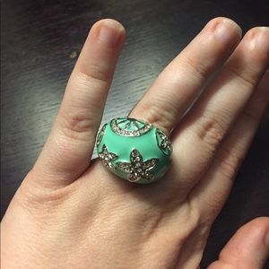 Forever 21 Jewelry - Turquoise Cocktail Ring