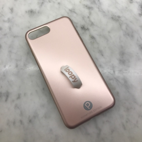 separation shoes 299f2 98e02 Rose Gold Iphone 7 Plus Loopy Case