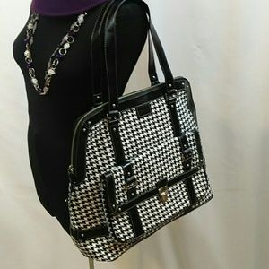 Limited Edition Handbags - Large Black and White Handbag Travel Bag