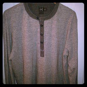Grayers Other - *NEW* XL Grey Henley Shirt