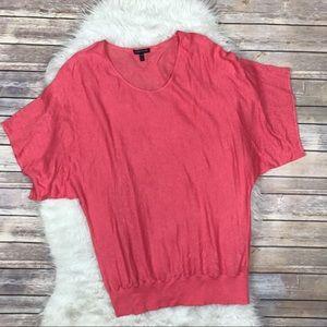 Eileen Fisher Tops - Eileen Fisher Linen Dolman Sleeve Knit Top