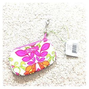  Vera bradley clip zip ID Lilli Bell nwt $25