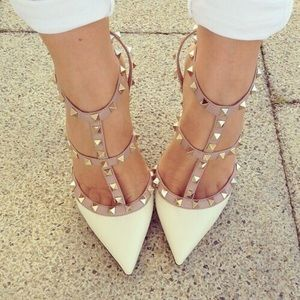 Wild Diva Shoes - Cute studded heels