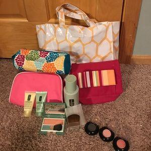 Makeup and makeup bag bundle