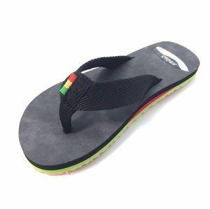 NWT Rasta  flatform soft cloth strap flat sandals