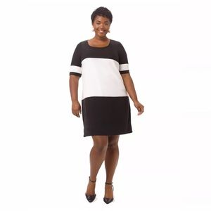 Junarose Dresses & Skirts - Junarose Women Dress Black White Color Block 14