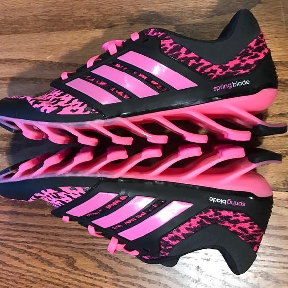 17 adidas shoes like new adidas pink black leopard
