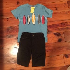 Appaman Other - Appaman shorts with NWT City threads tee