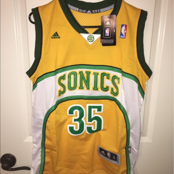 5609cb4e5c07 Kevin Durant Adidas Sonics Jersey