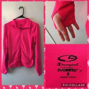 Champion Jackets & Blazers - Champion Brand Neon Pink DuoDry Jacket