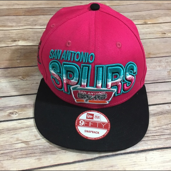 new arrival ea974 0d1e0 San Antonio Spurs 9Fifty Snapback New Era Hat Cap