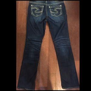 Silver Jeans Denim - 🇺🇸Silver Jean Co Suki Jeans 28/33 Like New