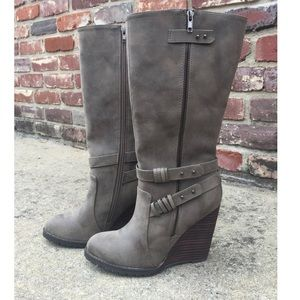 Volatile Shoes - Wedge Boot