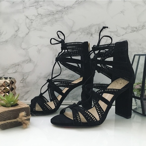 3ab2d2dd3ed Vince Camuto  Mindie Ghillie  Strappy Sandals