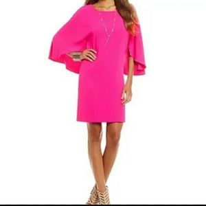 MM Couture Dresses & Skirts - NWT MM Couture Pink Flutter Sleeve Dress Size XS