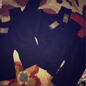 Pants - Bundle of Black Soft Leggings NWT