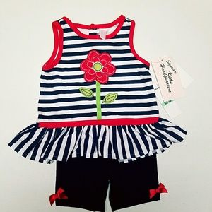 Kids Headquarters Other - Kids Headquarters Size 18 Month 2 Piece Outfit NWT