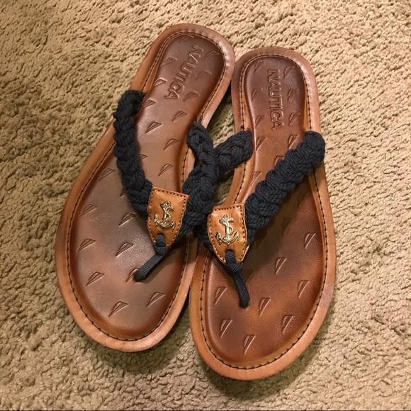 5cbf46ef7c78 Nautica flip flops for women. M 5912ad2e4e95a3c17016465c