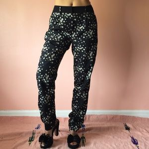 Oasis Pants - Oasis Floral Print Trousers