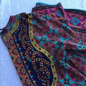 Tunic dress from India size large ethnic boho