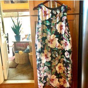 AX Paris Tops - AX Paris hibiscus tunic/caftan/dress/long top