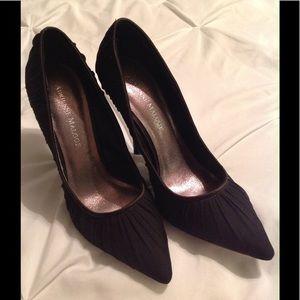 Adrienne Maloof Shoes - Adrienne Maloof black heels