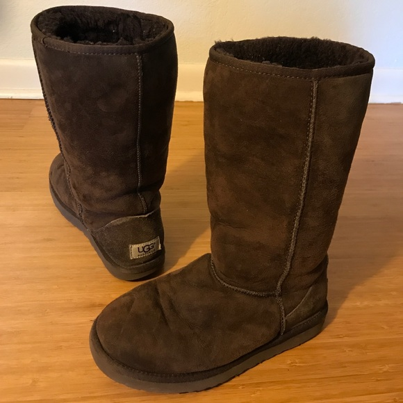 ugg boots brown tall - photo #6