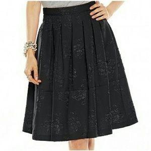 Elle Dresses & Skirts - NWOT Elle Jaquard Floral Midi Skirt