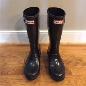 Hunter Other - Hunter Black Boots
