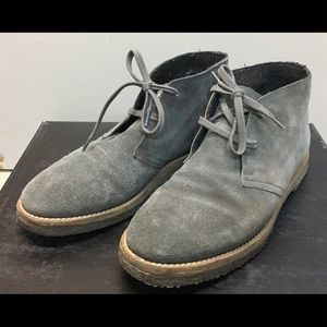 Vince Shoes - Vince grey suede booties