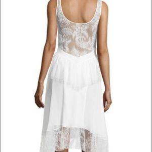 Jason Wu Dresses & Skirts - NWT Jason Wu Tulle/Lace Peplum Tank Dress Ivory