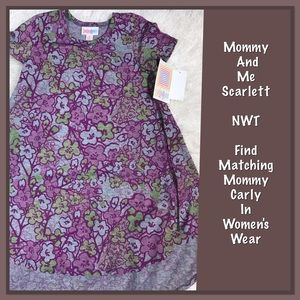 LuLaRoe Other - 🌸NWT Mommy and Me Scarlett 🌸