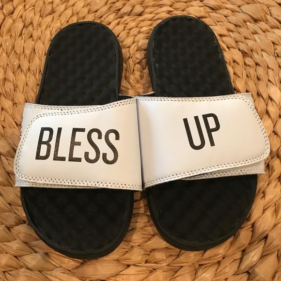 dj khaled shoes we the best slides poshmark